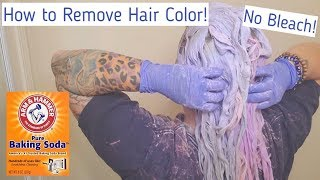 Removing Hair Color with NO Bleach in 1 Treatment!
