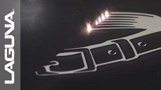 SmartShop® Laser SV Cutting Lacquered Aluminum