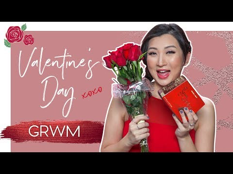 GRWM Valentine's Day Makeup & Outfit | Get Unready With Me