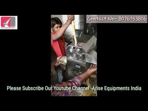 Sugar Cane Juice Extractor ( 3 & 4 Roller)