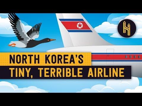 Malé a děsné aerolinky Severní Koreje