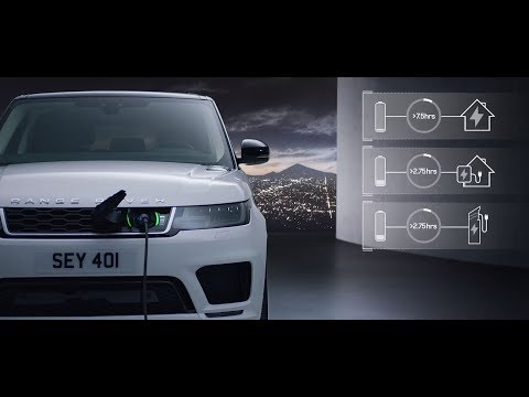 New Range Rover Sport – Plug-in Hybrid Electric Vehicle