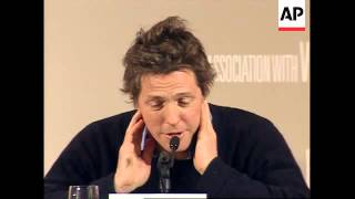Hugh Grant and Drew Barrymore hold press conference for new film in London