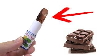 Шоколадная Помада Как Сделать Блеск для Губ