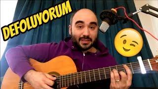 Defoluyorum   Emir Can İğrek (Gitar Dersi) Nasıl Çalınır?