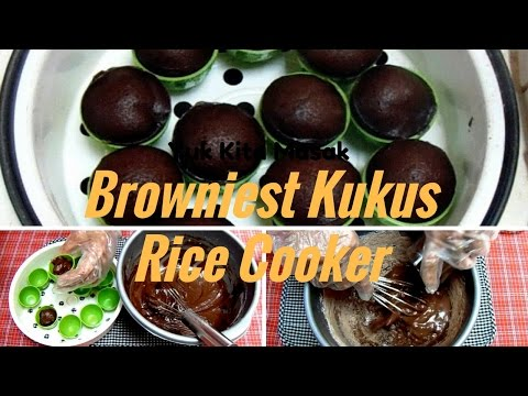 Video Cara Membuat Browniest Kukus Rice Cooker Tanpa Mixer