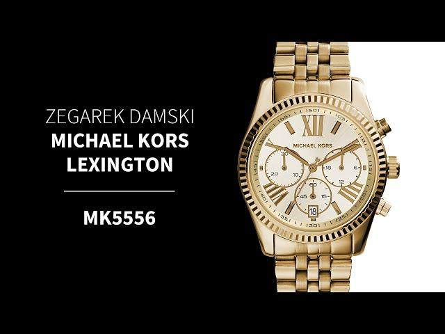 cfafb8f642bf6 Zegarek Damski Michael Kors Lexington MK5556 • Zegarownia.pl
