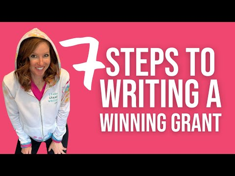 How to Write a Grant Proposal Step by Step