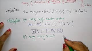 strings in c programming