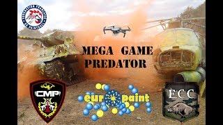 Paintball MEGA GAME Predator + DRONE