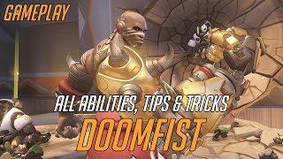 Doomfist Overwatch Hero Spotlight | All Abilities, Tips & Tricks and Gameplay!