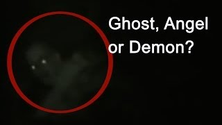 SCARY VIDEO Fallen angel or ghost caught on camera | Scary videos of ghosts caught on tape