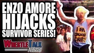 Enzo Amore HIJACKS WWE Survivor Series 2018!   WrestleTalk News Nov. 2018