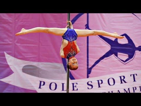 Awesome Pole sport kids perfomance 10 years old Russian championship | Спортивный пилон дети