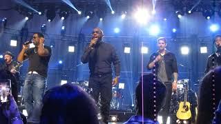 """CMT Crossroads: Boyz II Men + Brett Young   """"End Of The Road"""" (Take 1)"""