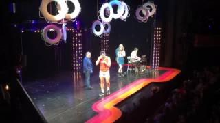 Disaster! Curtain Call: Cheyenne Jackson & Kerry Butler sing 'Suddenly' from XANADU for BCEFA