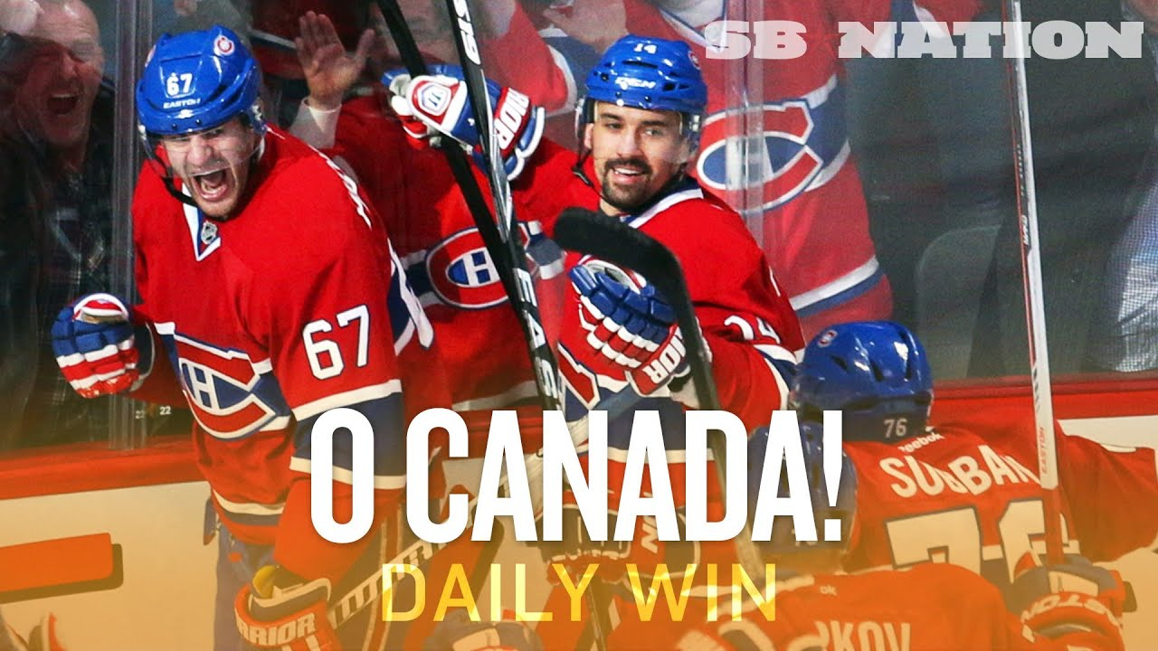 Sweepin' Canadiens are the big early Stanley Cup playoffs story (Daily Win) thumbnail
