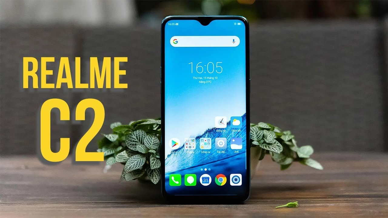 Mở hộp Realme C2 giá từ 2 triệu: Màn to, cam kép, pin trâu