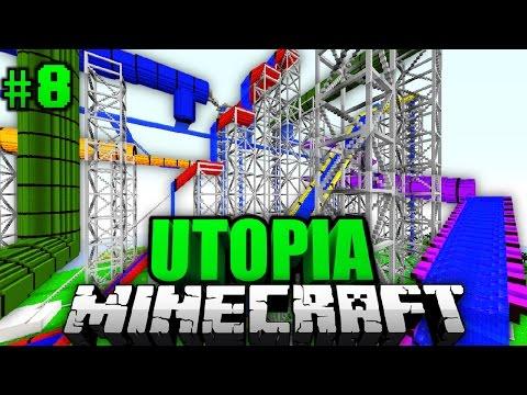 Der Ultimative Wasserpark Minecraft Utopia Deutschhd - Minecraft utopia spielen