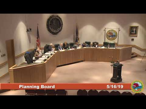 Planning Board 5.16.2019