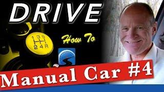 How To Drive A Manual Car in Traffic (Intermediate) :: Lesson #4