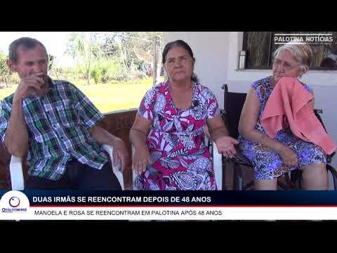 Duas irmãs se reencontram depois de 48 anos em Palotina - VALE A PENA ASSISTIR