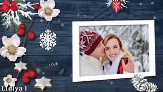 #Winter love#Зимняя любовь#Free project Proshow Producer