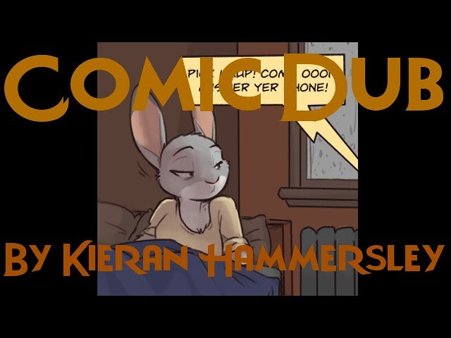 Comic Dub: Night Terrors (by Kieran Hammersley)