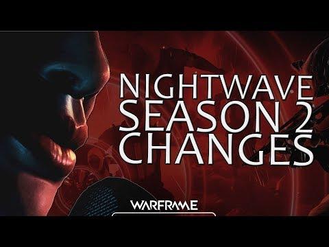 Warframe - Nightwave Season 2 Changes (Dev Workshop)