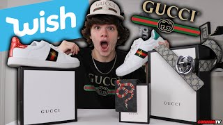 I Bought a $2000 Gucci Outfit on Wish.com for $100