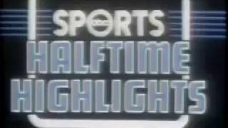 1981 09 21 Monday Night Football Halftime Highlights