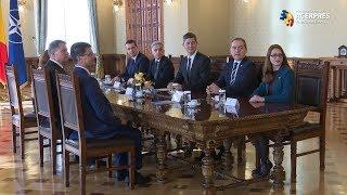 Președintele Iohannis, consultări și cu USR, la Cotroceni, pentru desemnarea unui nou premier