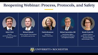 Rochester Restart: Update On Health And Safety Protocols For Fall 2020