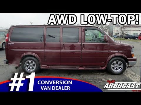 Pre-Owned 2012 Chevrolet Conversion Van Explorer Limited SE