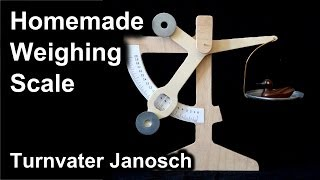 Homemade Weighing Scale - Letter scale