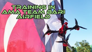???? Training in AMA Team Bari airfield | FPV Drone Racing ????