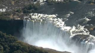 Video of Victoria Falls and Helicopter Flight