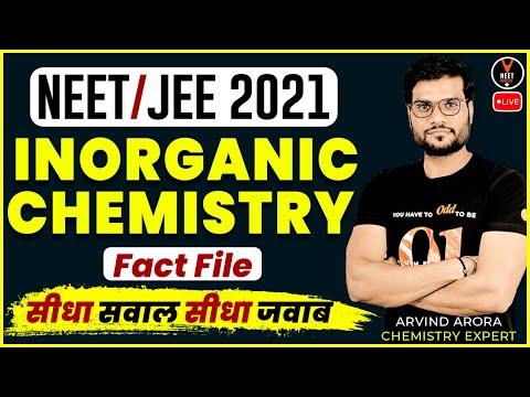 Inorganic Chemistry Tips And Tricks #1 | NEET 2021 Preparation ...