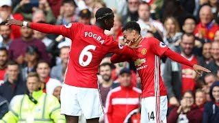 Manchester United Vs Leicester City 41 All Goals And Highlights 2016 Premier League