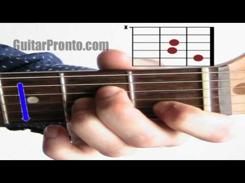 Beginner guitar chords - The difference between major and minor chords