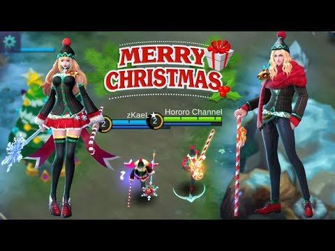 Christmas Carnival Lancelot.Mobile Legends Bang Bang New Skins Xmas Carnival Odette X
