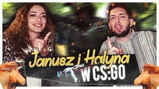 JANUSZ I HALYNA W CS:GO | TROLL NA FFA