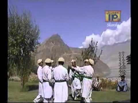 Balti folk Dans Skardu  (Gahsopa.)