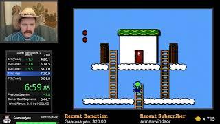 Super Mario Bros. 2 NES speedrun in 8:52 by Arcus