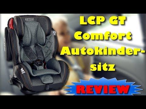 LCP GT Comfort Autokindersitz Isofix Gruppe 1/2/3 Autositz 9 bis 36 kg - Günstig UND gut ?