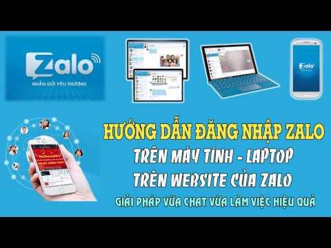 Hướng dẫn cài đặt Zalo cho máy tính - Đăng nhập và chat zalo trên website