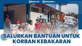Merangkai Kebhinekaan, Barisan Pemuda Nusantara Salurkan Bantuan untuk Korban Kebakaran Borobudur