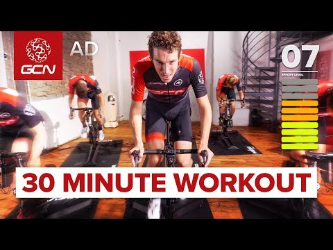 Innendørs sykkeltrening | 30 Minutter intervall: Kondisjonstrening