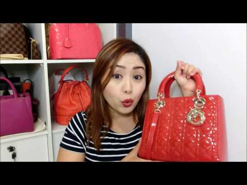 Lady Dior bag Review + What Fits inside!