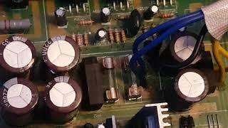 MC Voice AMP 400 Hardcore Test Geiles Teil ;) Müll Verstärker mit Zement Gewichte ;)